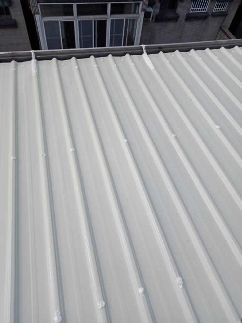 鐵皮屋頂搭建-鐵皮屋烤漆