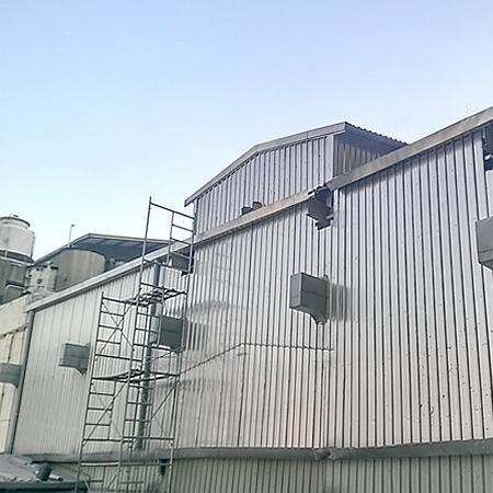 高雄蓋鐵皮屋工廠