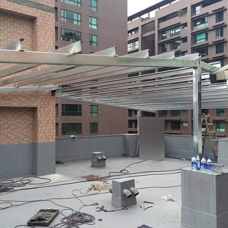 蓋鐵皮屋-琉璃瓦防水屋頂