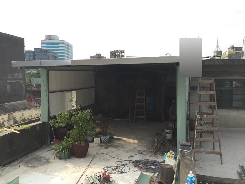 高雄屋頂蓋鐵皮屋