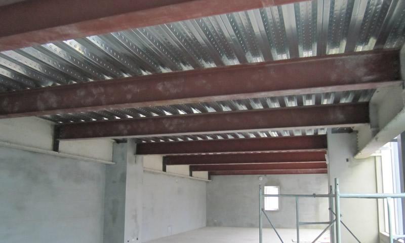 高雄住家鋼構夾層施工